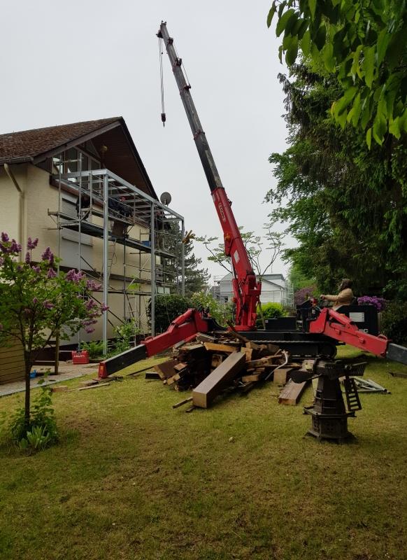 Balkonmontage 2