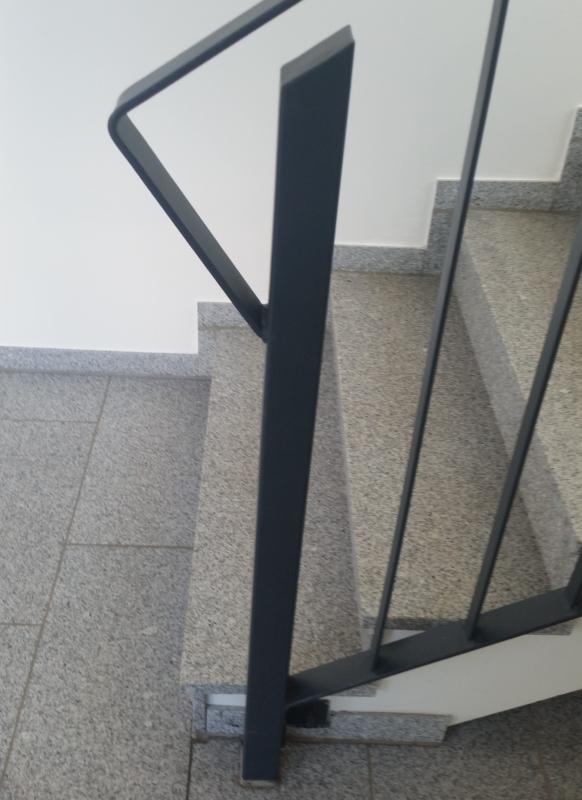 Treppenanfang